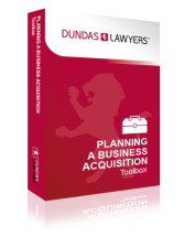 Planning a business acquisition