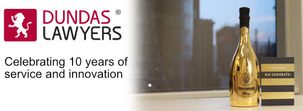 Dundas Lawyers Celebrates Our 10th Anniversary